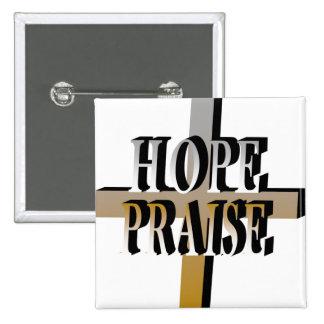 Hope-Praise Button