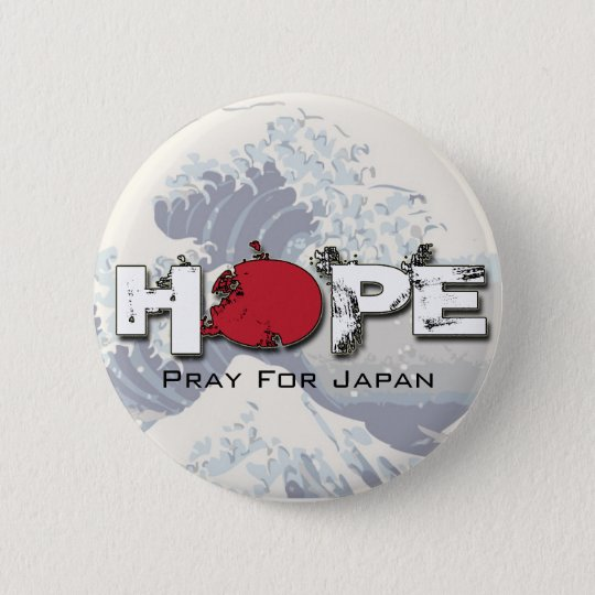 HOPE - Pray for Japan Pins