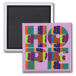Hope Purple Magnet