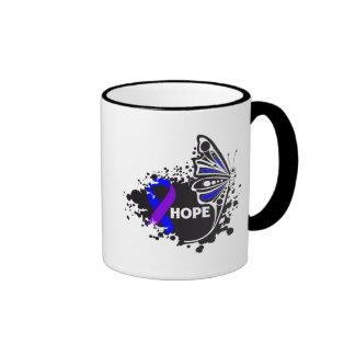 Hope Rheumatoid Arthritis Butterfly Ringer Mug
