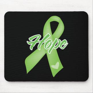 Hope Ribbon - Lyme Disease Mousepads