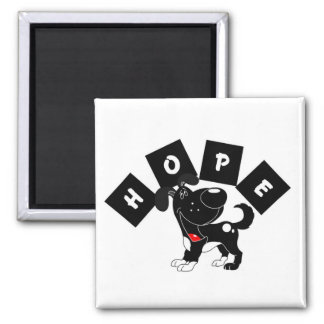 Hope (Shadow) Square Magnet