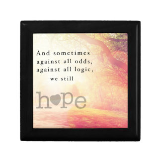 Hope Small Square Gift Box