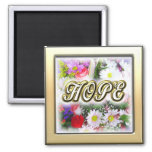 Hope Square Magnet