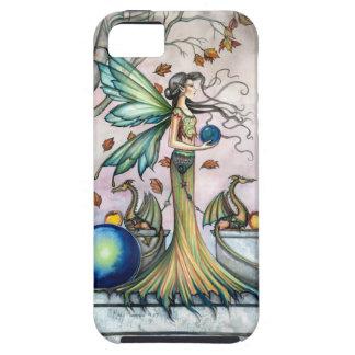 Hope Stones Autumn Fairy Dragon Fantasy Art iPhone 5 Covers