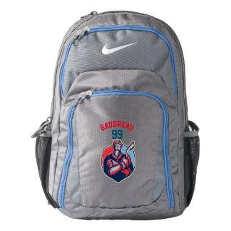 """""""Hope"""" Style Ice Hockey Player-Ice Hockey Backpack"""