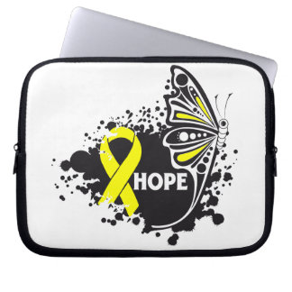 Hope Suicide Prevention Butterfly Laptop Sleeve