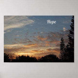 Hope sunrise Poster