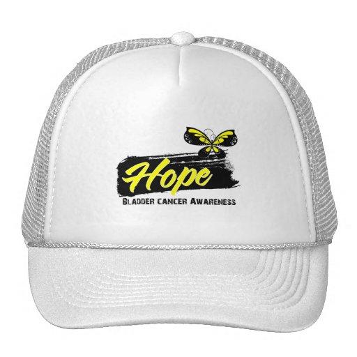 Hope Tattoo Butterfly Bladder Cancer Hats