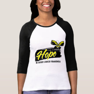 Hope Tattoo Butterfly Bladder Cancer Tshirts