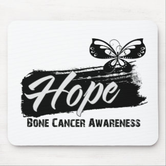 Hope Tattoo Butterfly Bone Cancer Mousepad