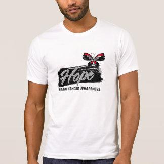 Hope Tattoo Butterfly Brain Cancer T-shirt