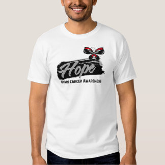 Hope Tattoo Butterfly Brain Cancer Tshirts