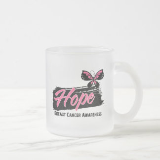 Hope Tattoo Butterfly Breast Cancer Coffee Mugs