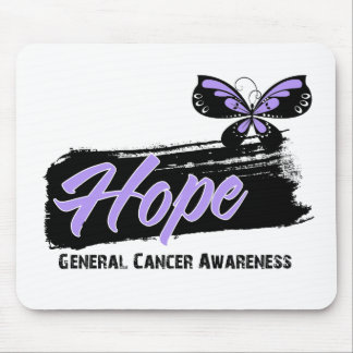Hope Tattoo Butterfly - Cancer Mouse Pads
