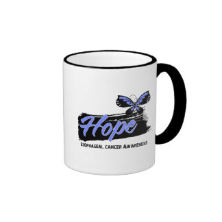 Hope Tattoo Butterfly Esophageal Cancer Mugs