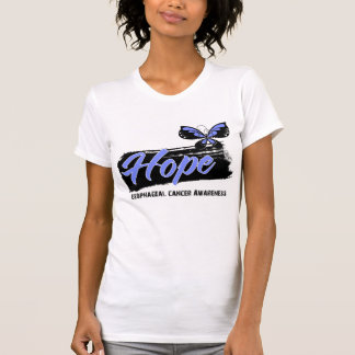 Hope Tattoo Butterfly Esophageal Cancer Tees