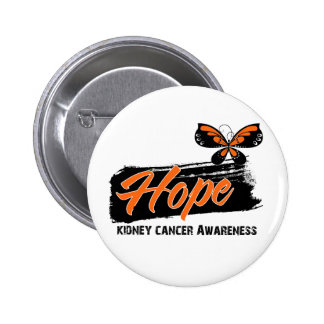 Hope Tattoo Butterfly Kidney Cancer Pins