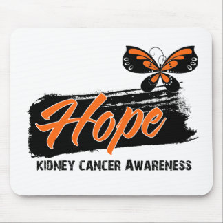 Hope Tattoo Butterfly Kidney Cancer Mousepads