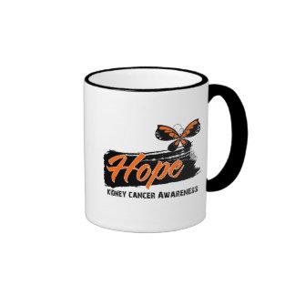 Hope Tattoo Butterfly Kidney Cancer Coffee Mug