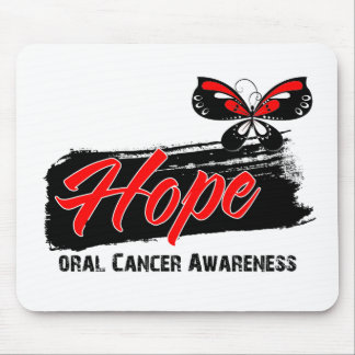 Hope Tattoo Butterfly Oral Cancer Mousepad
