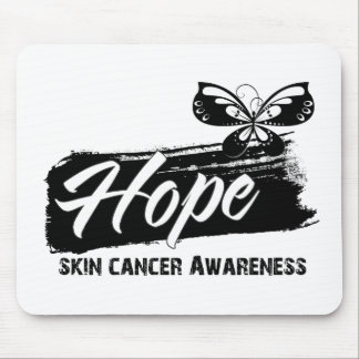 Hope Tattoo Butterfly Skin Cancer Mousepads