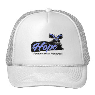 Hope Tattoo Butterfly Stomach Cancer Hats