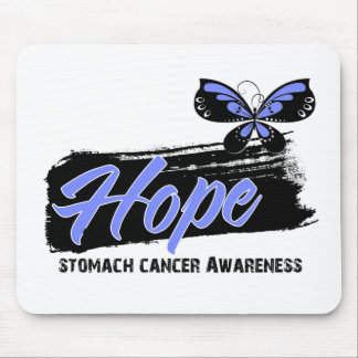Hope Tattoo Butterfly Stomach Cancer Mousepad