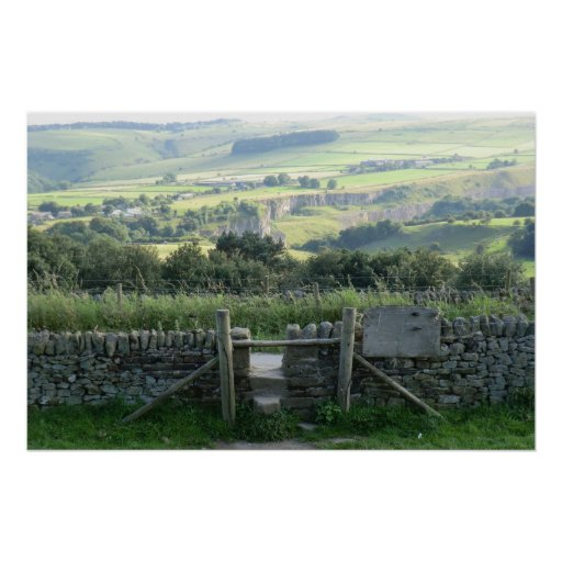 Hope Valley in the Derbyshire Dales Print