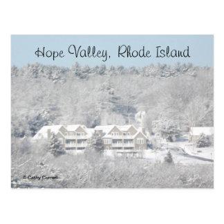 Hope Valley Rhode Island Postcard