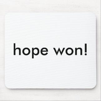 hope won! mouse mat
