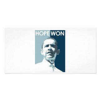 Hope Won T-shirt Custom Photo Card