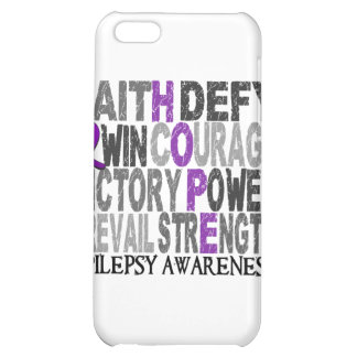 Hope Word Collage Epilepsy iPhone 5C Cover