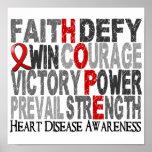 Hope Word Collage Heart Disease