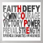 Hope Word Collage Juvenile Diabetes