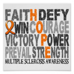 Hope Word Collage Multiple Sclerosis
