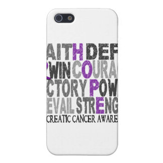 Hope Word Collage Pancreatic Cancer Cover For iPhone 5
