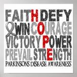 Hope Word Collage Parkinson's Disease