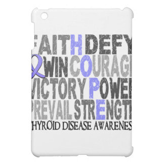 Hope Word Collage Thyroid Disease Cover For The iPad Mini