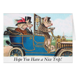 Hope You Have a Nice Trip! Greeting Card