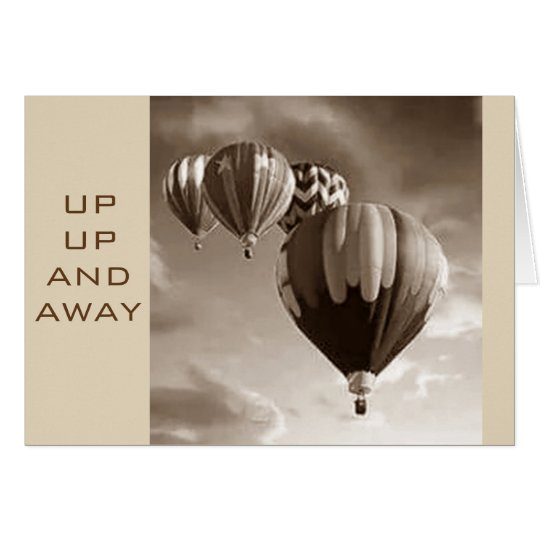 HOPE YOU *SOAR* ON YOUR BIRTHDAY-HOT AIR BALLOONS