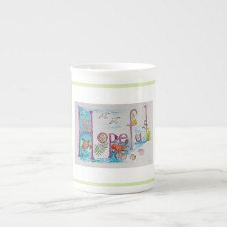 Hopeful Tea Cup