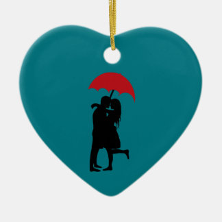 Hopeless Romantic Christmas Ornament