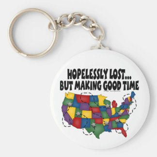 Hopelessly Lost.... Keychain