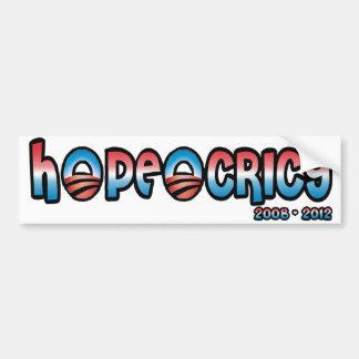 Hopeocricy Bumper Stickers: Hopeocricy logo Bumper Sticker