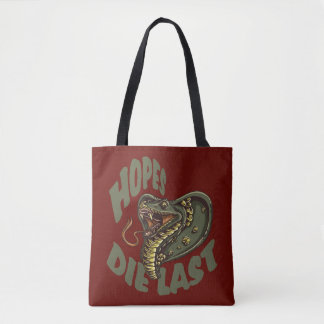 Hopes die last - COBRA SNAKE Tote Bag