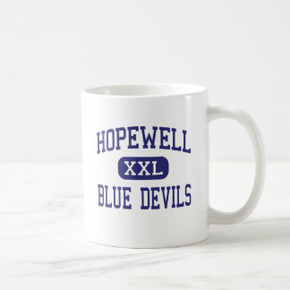 Hopewell - Blue Devils - High - Hopewell Virginia Mugs