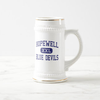 Hopewell - Blue Devils - High - Hopewell Virginia Coffee Mugs