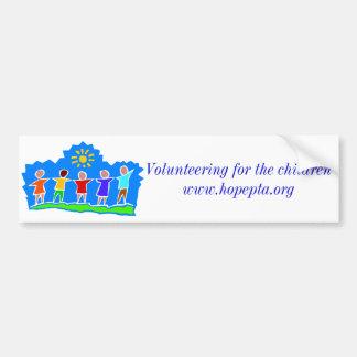 Hopewell Elementary PTA Bumper Sticker