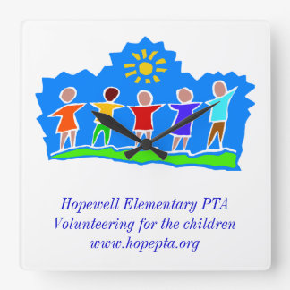 Hopewell Elementary PTA Clock Square